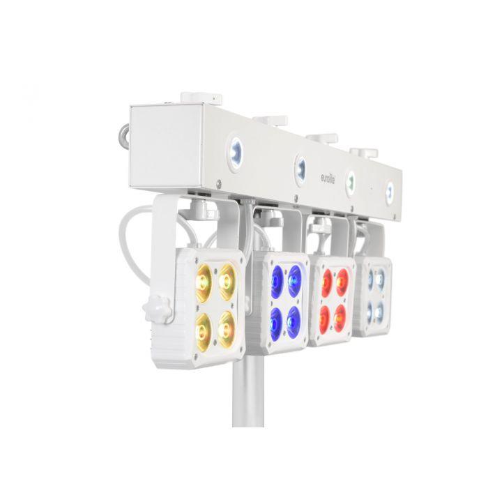 EUROLITE LED KLS-180 Compact Light Set witte uitvoering