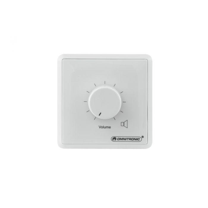 OMNITRONIC PA Volume Controller 60 W mono white
