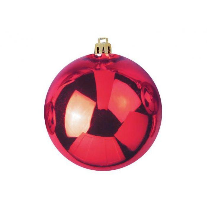 EUROPALMS kerst Bal 30cm Rood