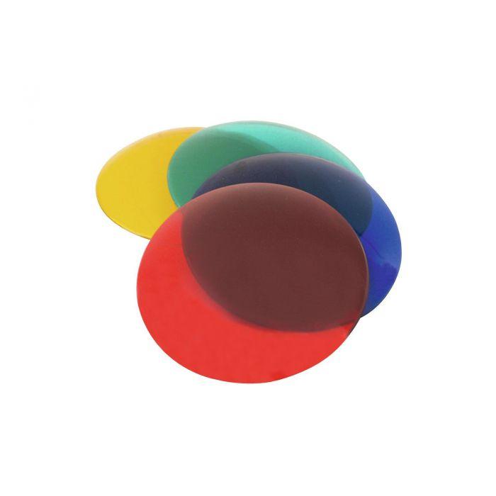 EUROLITE kleurkap voor PAR-36, 4 kleuren in een set