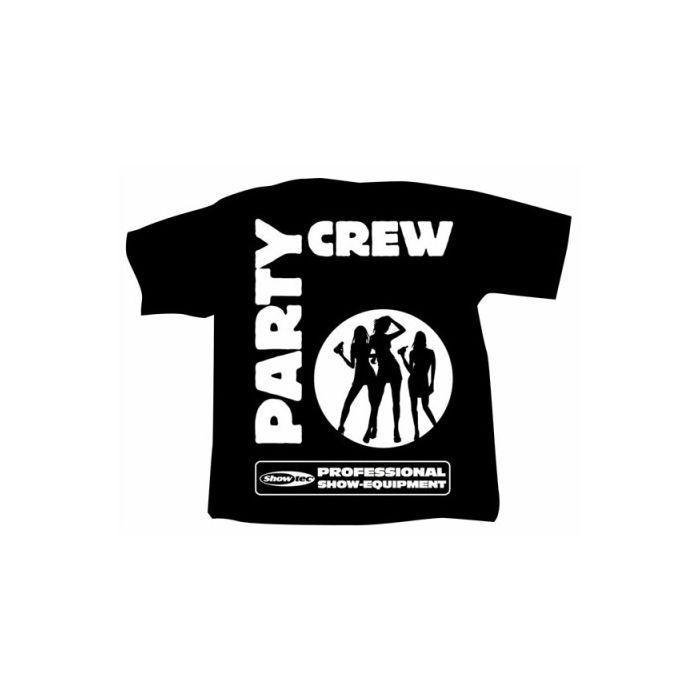 Showtec T-Shirt Partycrew maat Extra Large