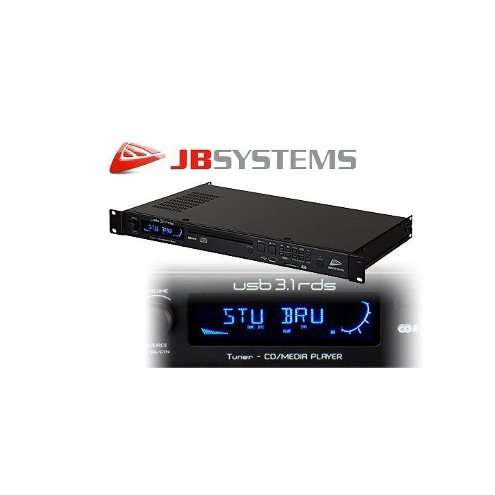 JB Systems USB3.1-RDS Multimedia speler - tuner