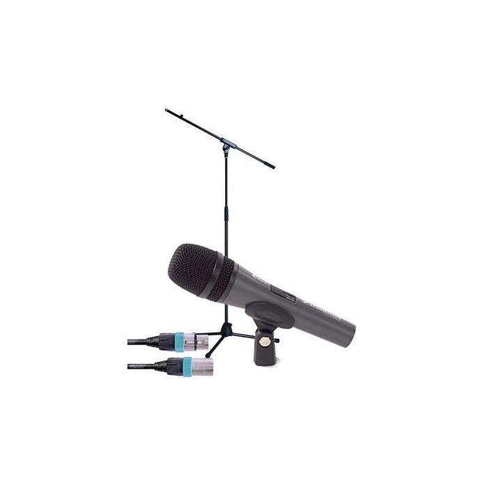 SENNHEISER E 835 S MICROFOON + K&M Statief en kabel